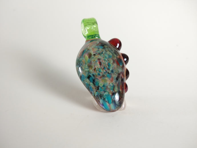 Frit Pendant with a Flare