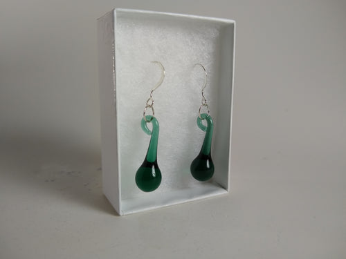 Bluegreen Drop Earrings