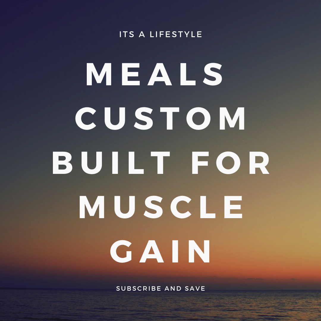 Muscle Gain - Custom Built Plan
