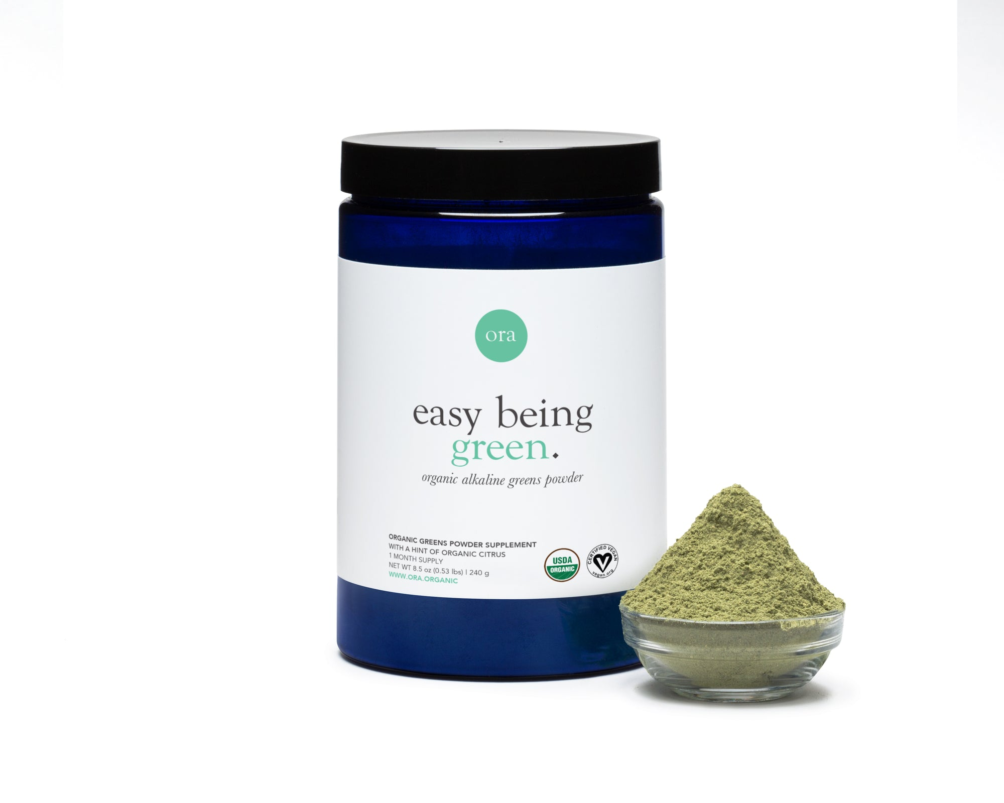 Organic Greens Powder (Fruit & Citrus Flavored)