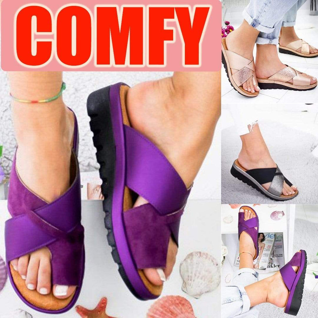 Women Elegant & Comfy Slip-on Summer Sandals