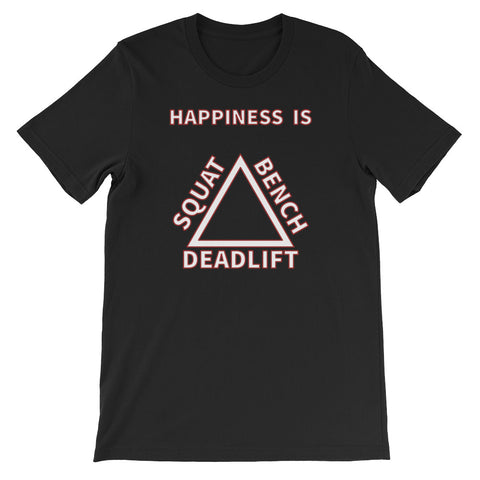 HAPPINESS IS Short-Sleeve Unisex T-Shirt