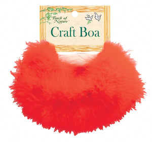 "Midwest Design Marabou Feather Boa 36""""-red"
