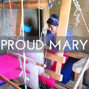 Proud Mary works with textile artisans in Mali and Guatemala. Through established long-term relationships, Proud Mary collaborates with artisan cooperatives to create accessories and home furnishings made using traditional weaving and dyeing methods.