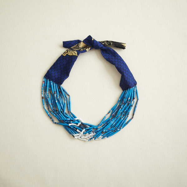 Manzini Fabric Necklace