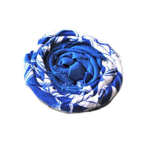 Blue Sails Flower Pin