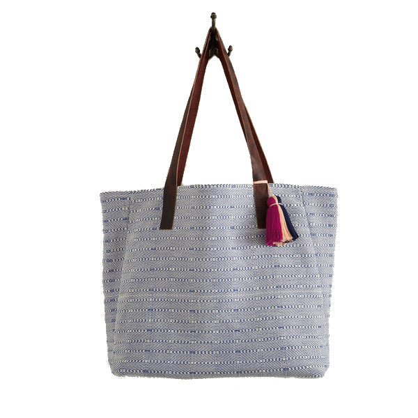 Blue Digital Tote