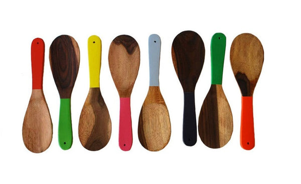Jacaranda Large Colorblocked Spoons
