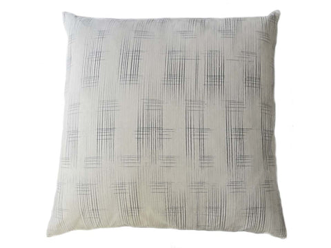 Light Ikat Graph Pillow