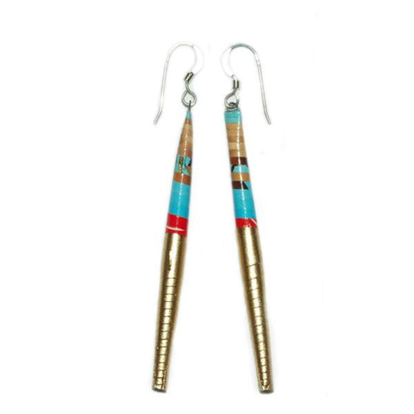 Turquoise Painter Earrings