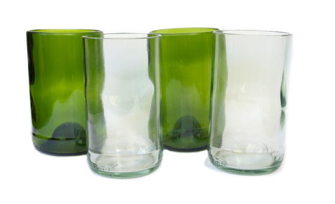 Upcycled Glassware
