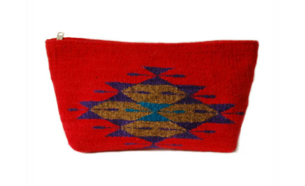 Tribal Wool Clutch