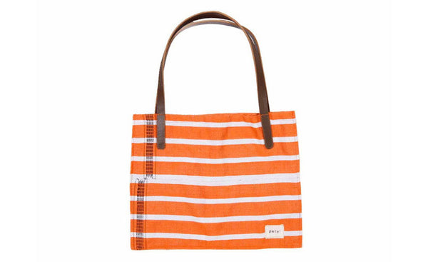 Orange Fulani Tote