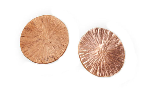 Copper Disc Studs