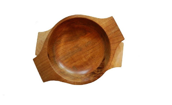 mango wood serving bowl
