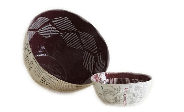 handcrafted bowl swaziland