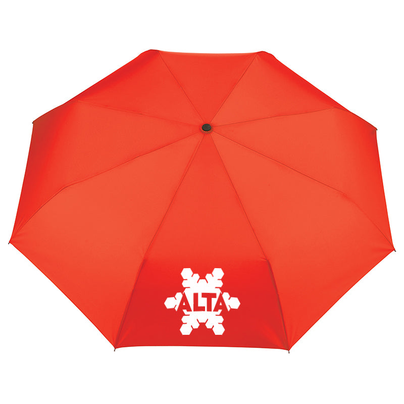 42' Recycled PET Auto Open/ Close Folding Umbrella