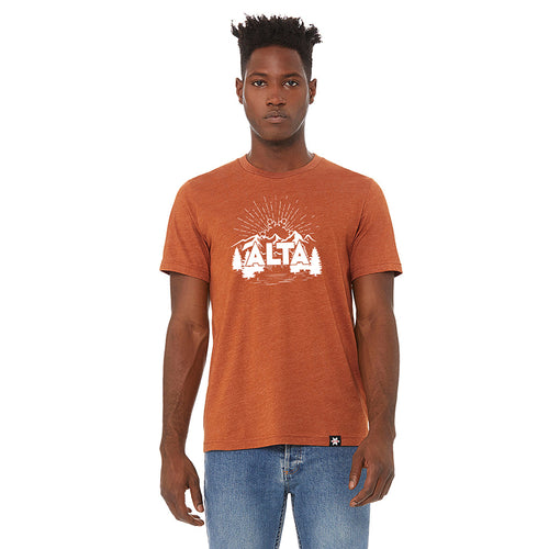 Alta Rising Flake T-shirt Short Sleeve T-shirt