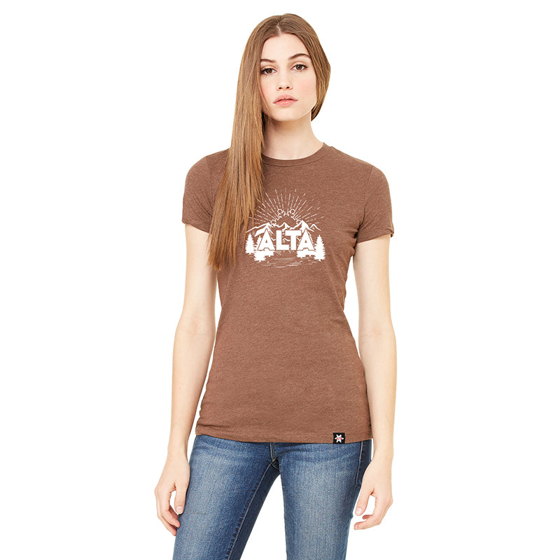 Women's Rising Flake Short Sleeve T-shirt