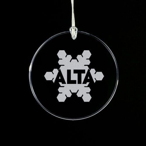 Alta Starfire Crystal Ornament