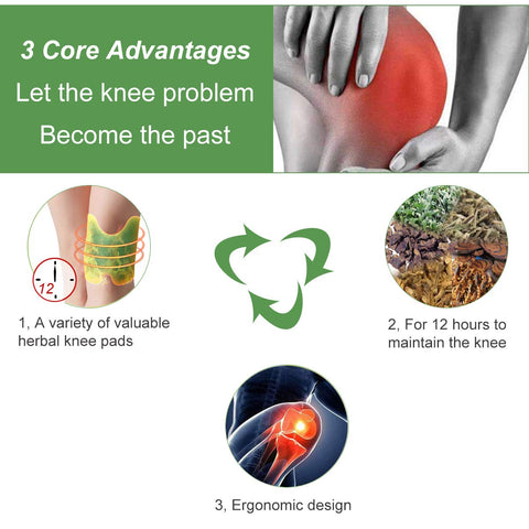 Knee Pain Relief Patches
