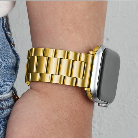 Stainless Steel Strap For Apple Watch 38mm 40mm 42mm 44mm