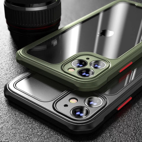 Transparent Shockproof Silicone iPhone 11 / 12