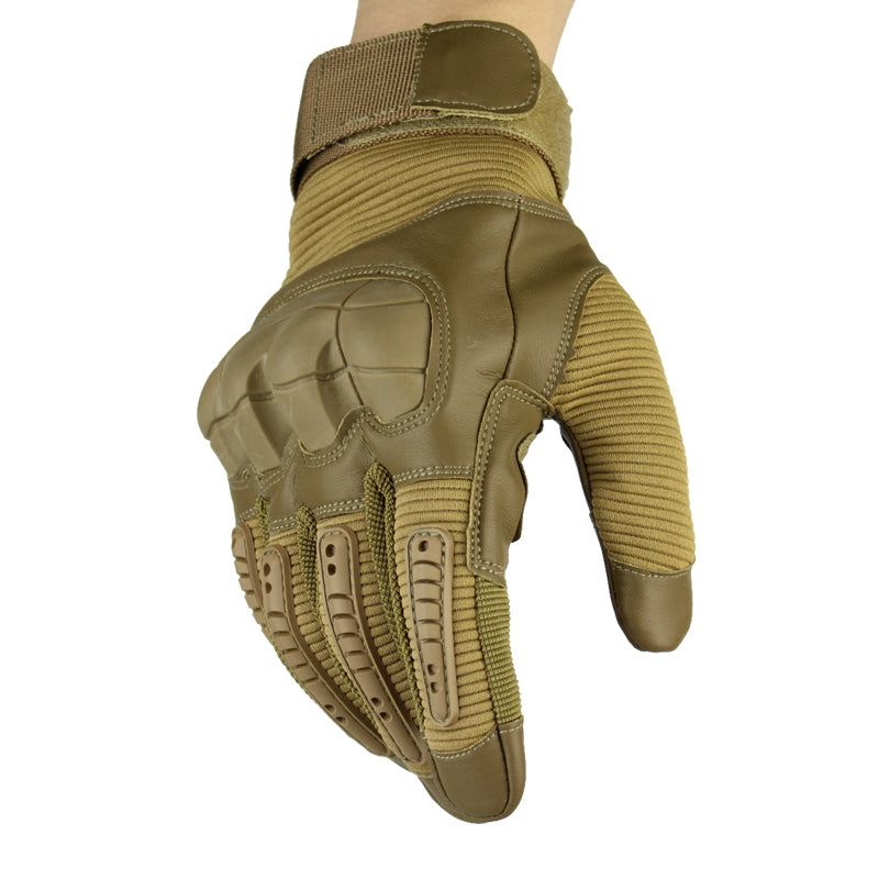 Hard Knuckle Tactical Gloves - vishmall.com