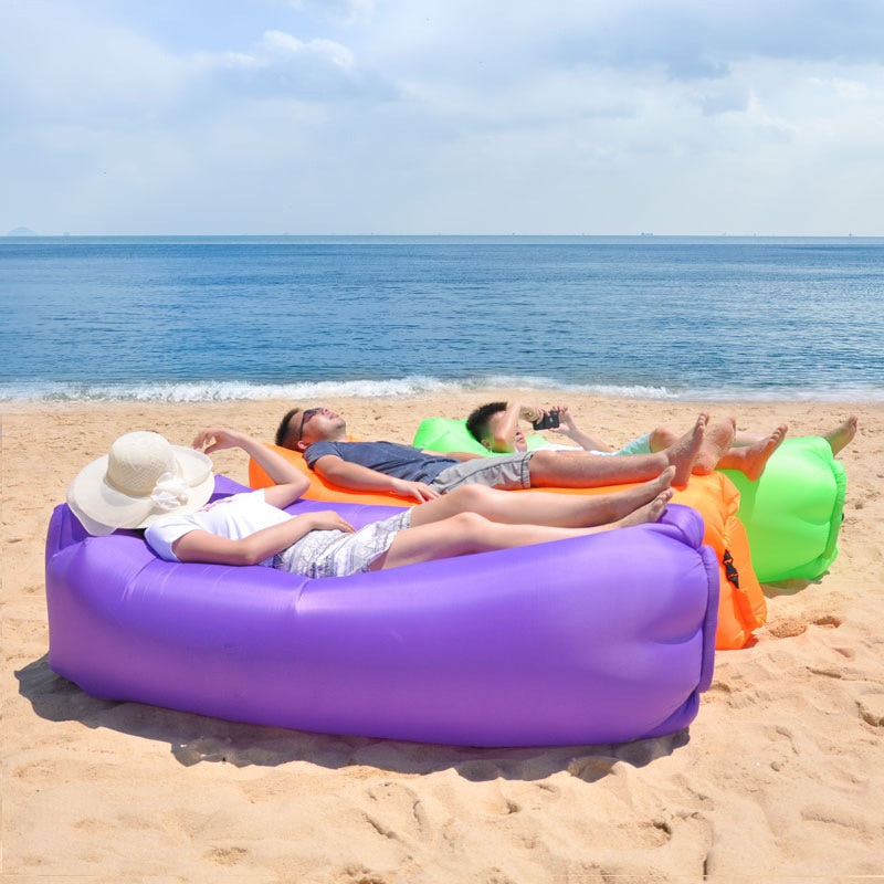 Inflatable Lounger Air Sofa - vishmall.com
