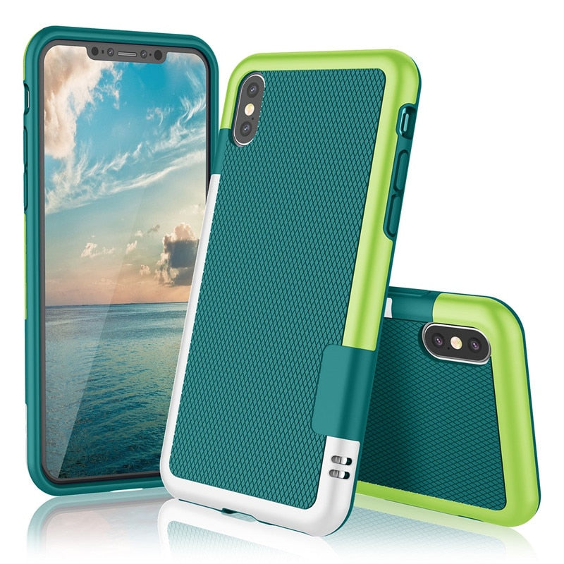 Ultra Slim 3 color Soft TPU Iphone Case - vishmall.com