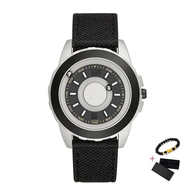 Magnetic Steel Ball Watch - vishmall.com