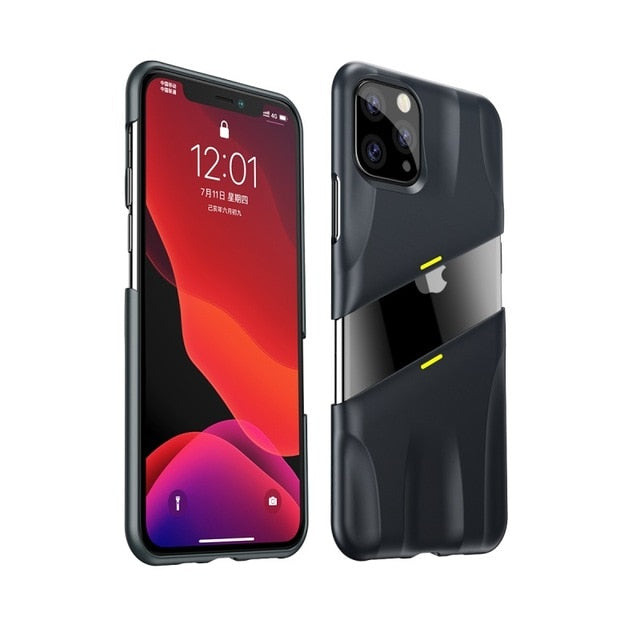 Luxury Trend Two Piece Protective iPhone11 11Pro 11ProMax Phone Case - vishmall.com