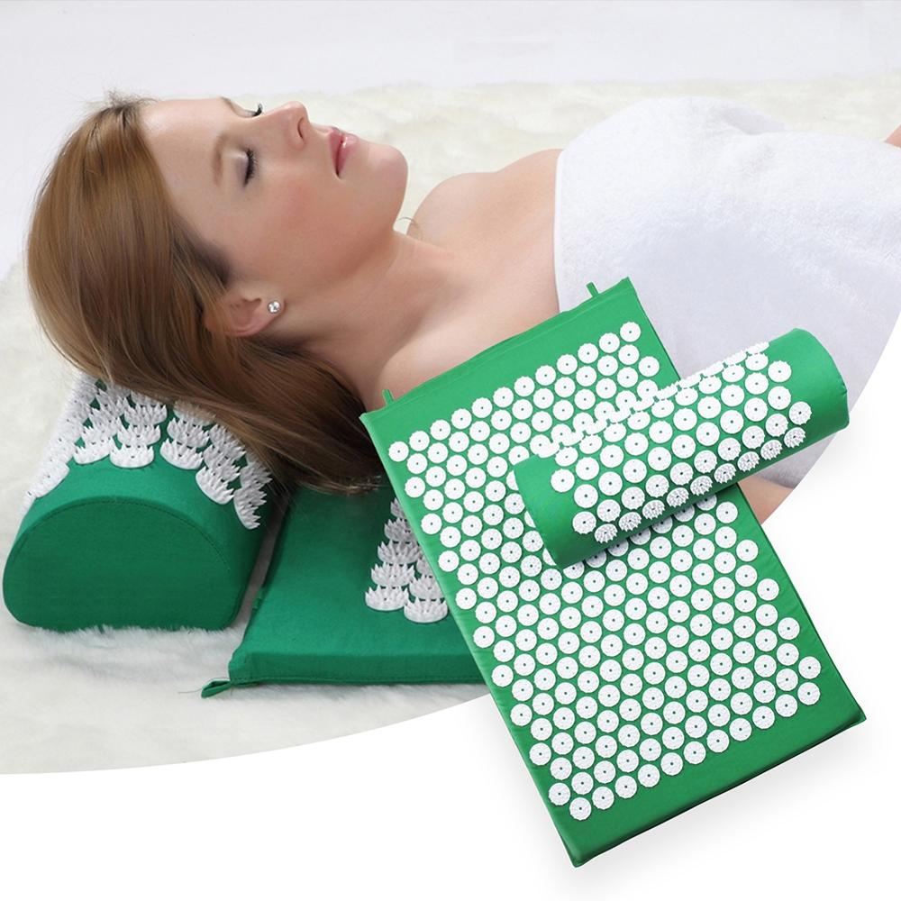 Acupressure Mat And Pillow Set - vishmall.com