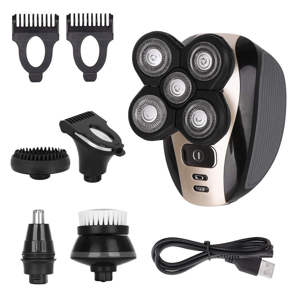 5 in 1 Electric Head Shaver - vishmall.com