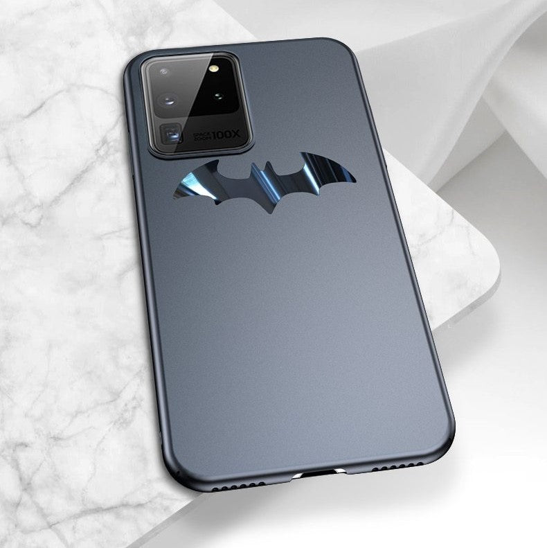 Metal Batman Matte Thinnest Samsung Galaxy Phone Case - vishmall.com