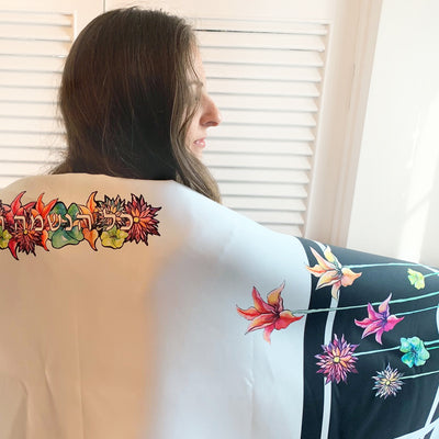 Sneak Peak at the Upcoming Art Tallit Line!