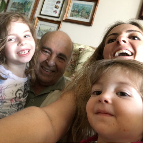 selfie with grandpa