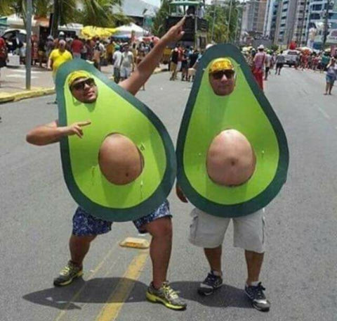 Secret Tel Aviv Avocado Costume Purim