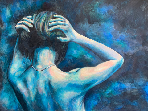 Blue Period by Anna Abramzon, Intimate Moments Collection