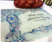 Jerusalem Love Tree Challah Board - Anna Abramzon Studio