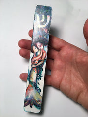 Blue Love Tree Mezuzah Case - Anna Abramzon Studio