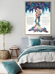 Love Tree Ketubah 3 - Anna Abramzon Studio