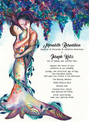 Love Tree 3 Wedding Invitation & Response Cards - Anna Abramzon Studio