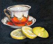 Grandma's Cup with Lemon - Anna Abramzon Studio