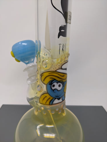 Trident Smurfette Water Oipe