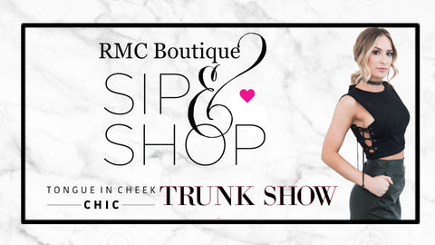 Sip & Shop RMC Boutique