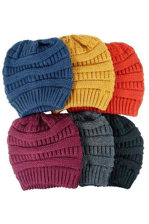 Full Of Color Knitted Beanie - RMC Boutique