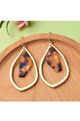 Abstract Resin Earrings