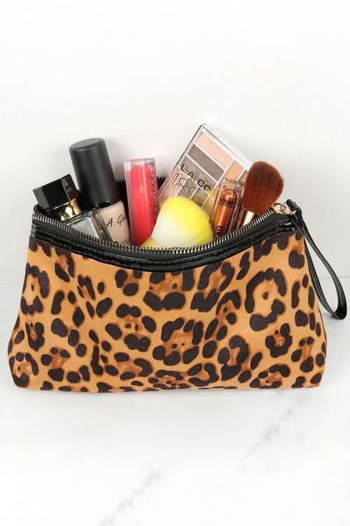 Animal Instinct Cosmetic Bag
