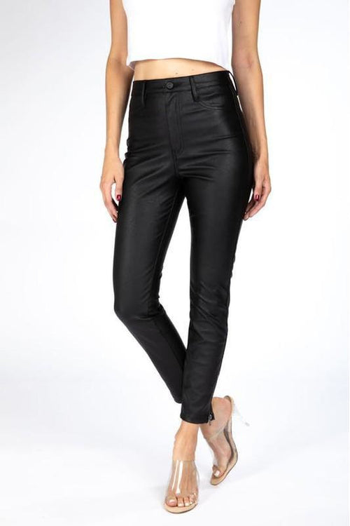 Kan Can Usa: Faux Leather Jeans - RMC Boutique